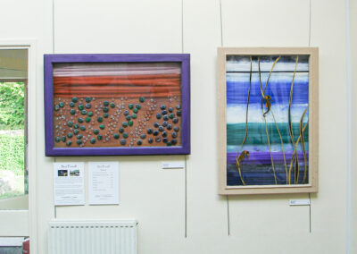 River Dernol in exhibition at Nature in Art, Twigworth, Gloucestershire