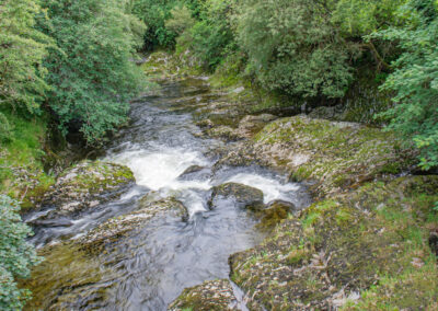 The River Wye in Dernol, August 2020