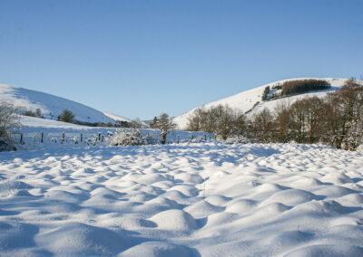 snow scene in Dernol, January 2013