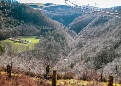 Devil's Bridge valley