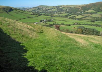 Dernol Valley viewed from above Pen-y-Ochr