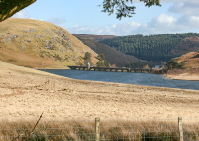 Penygarreg Reservoir and dam