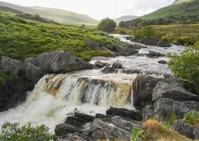 waterfall on Afon Claerwen