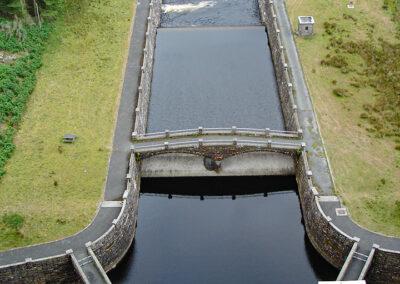 from Claerwen dam